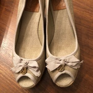 "Tory Burch espadrilles ""Jackie"" 75MM wedge"
